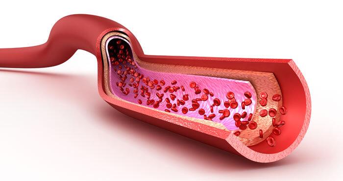 バリンの血流改善